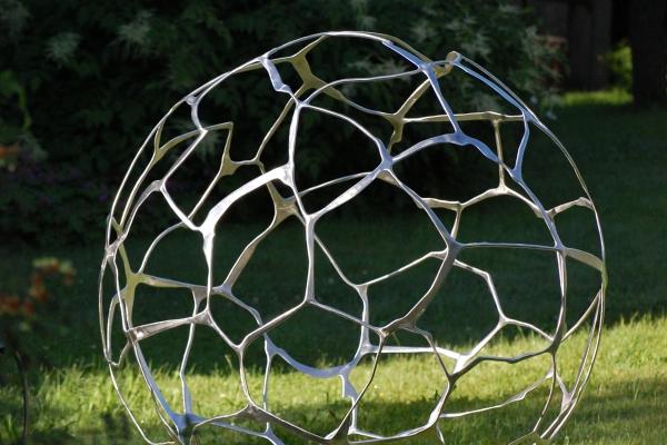 Skulptur Edelstahl sculpture stainless steel