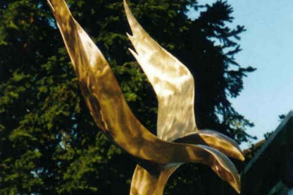 Remo Leghissa, Skulpturen aus Edelstahl und Messing - Schattenwelten