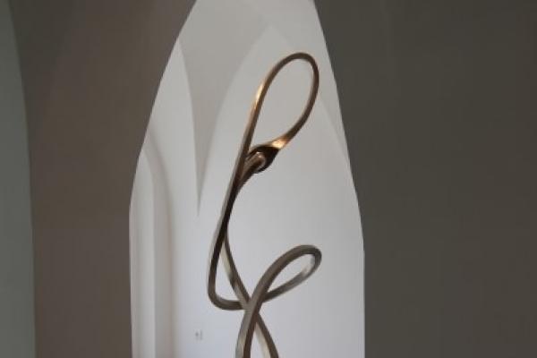 Remo Leghissa, Skulpturen aus Edelstahl und Messing - Anfang und Ende