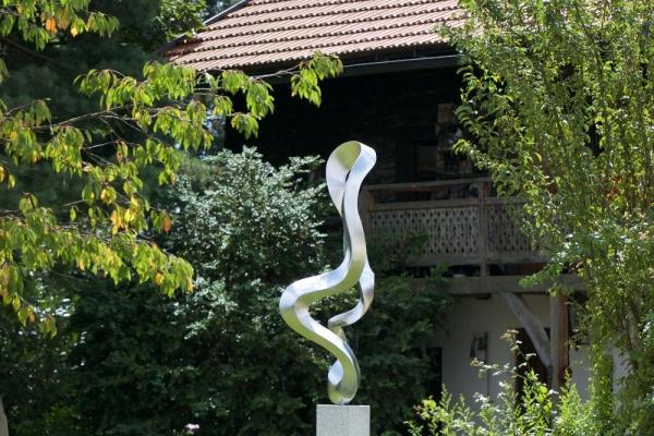 Remo Leghissa, Skulpturenpark - Hof
